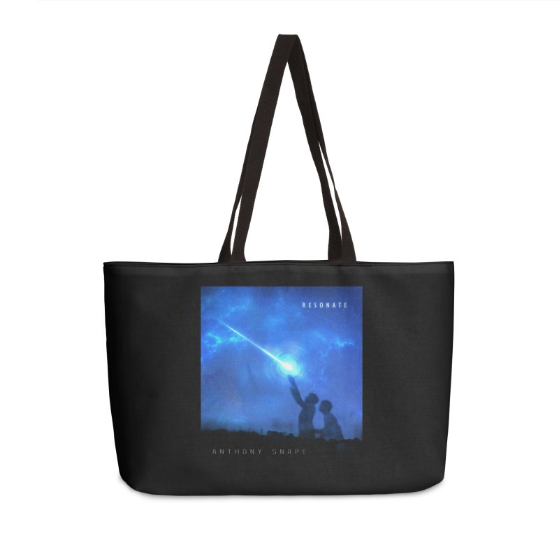 Resonate Album Artwork Design Accessories Weekender Bag Bag by Home Store - Music Artist Anthony Snape