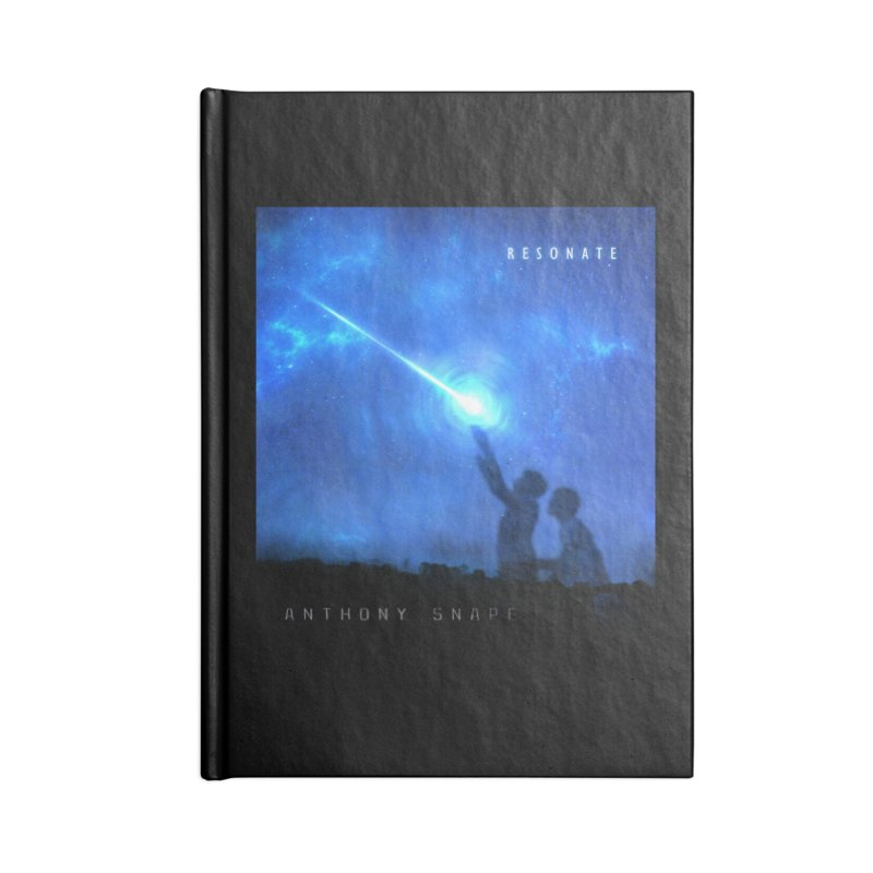 Resonate Album Artwork Design Accessories Lined Journal Notebook by Home Store - Music Artist Anthony Snape