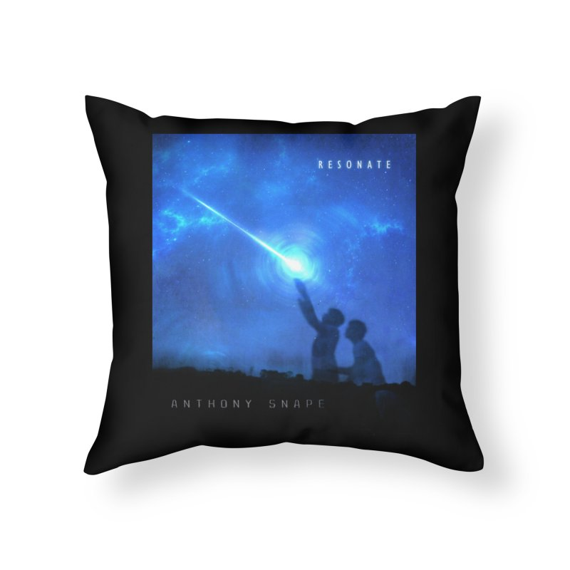 Resonate Album Artwork Design Home Throw Pillow by Home Store - Music Artist Anthony Snape