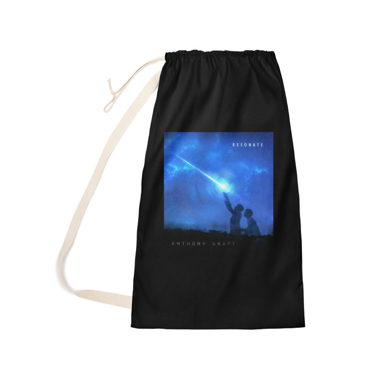Resonate Album Artwork Design Accessories Bag by Home Store - Music Artist Anthony Snape
