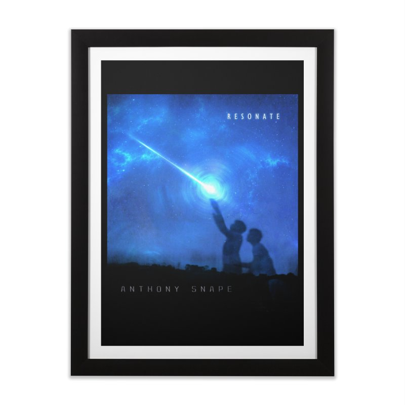 Resonate Album Artwork Design Home Framed Fine Art Print by Home Store - Music Artist Anthony Snape