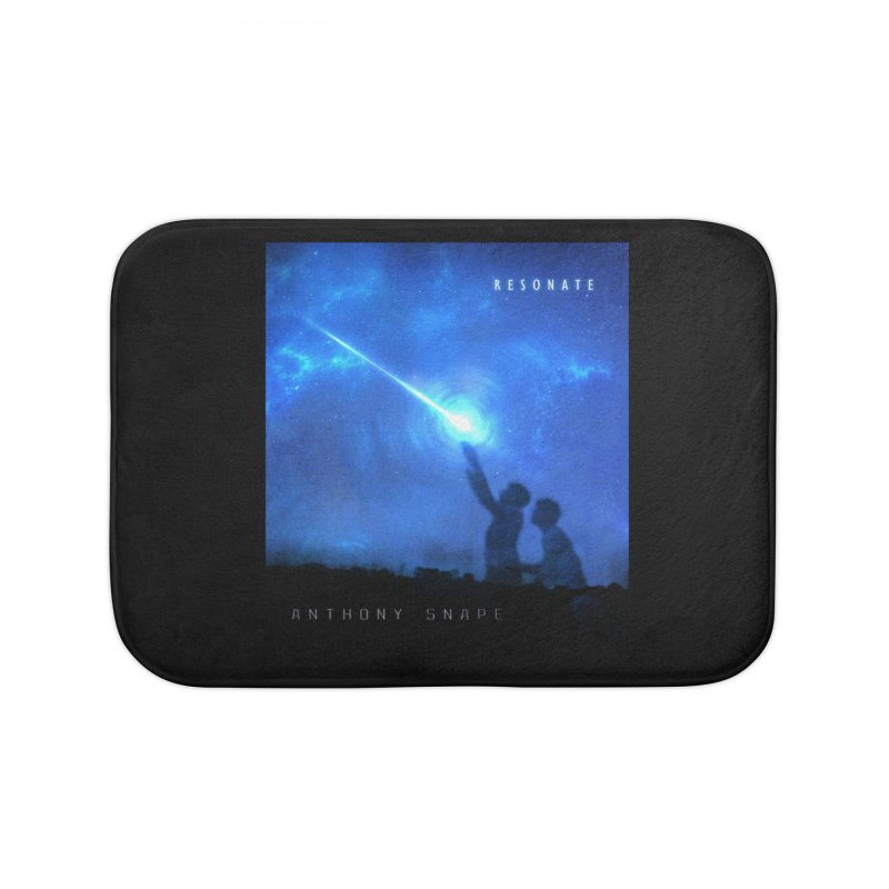 Resonate Album Artwork Design Home Bath Mat by Home Store - Music Artist Anthony Snape