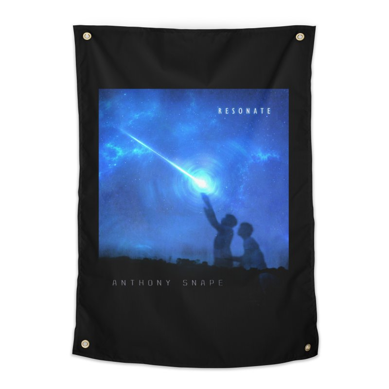 Resonate Album Artwork Design Home Tapestry by Home Store - Music Artist Anthony Snape