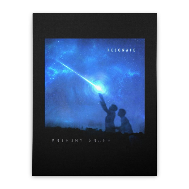 Resonate Album Artwork Design Home Stretched Canvas by Home Store - Music Artist Anthony Snape