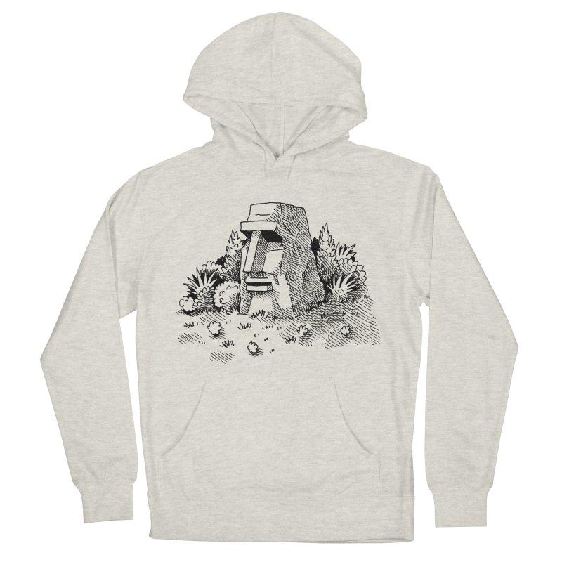 Jungle Monolith Women's Pullover Hoody by Anthony Woodward's Artist Shop