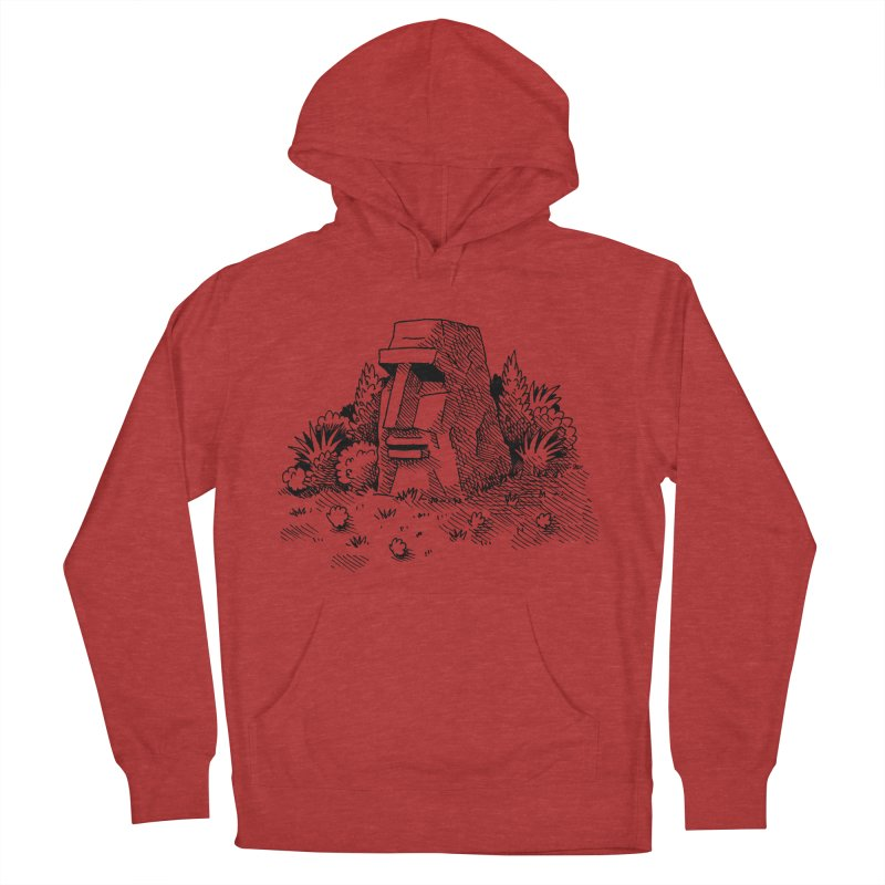 Jungle Monolith Men's Pullover Hoody by Anthony Woodward's Artist Shop