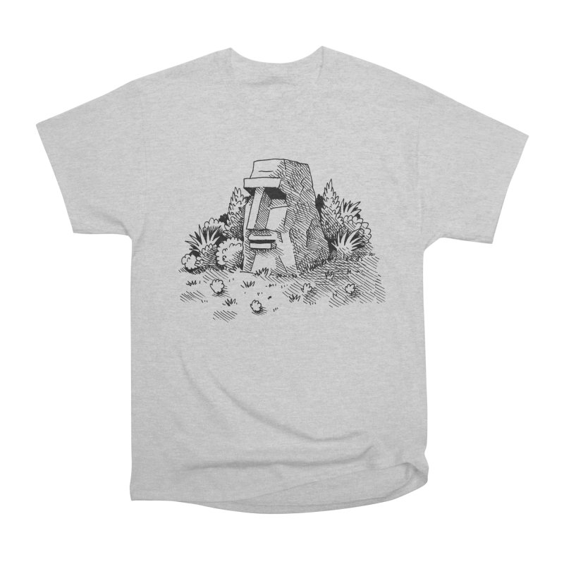 Jungle Monolith Men's Classic T-Shirt by Anthony Woodward's Artist Shop
