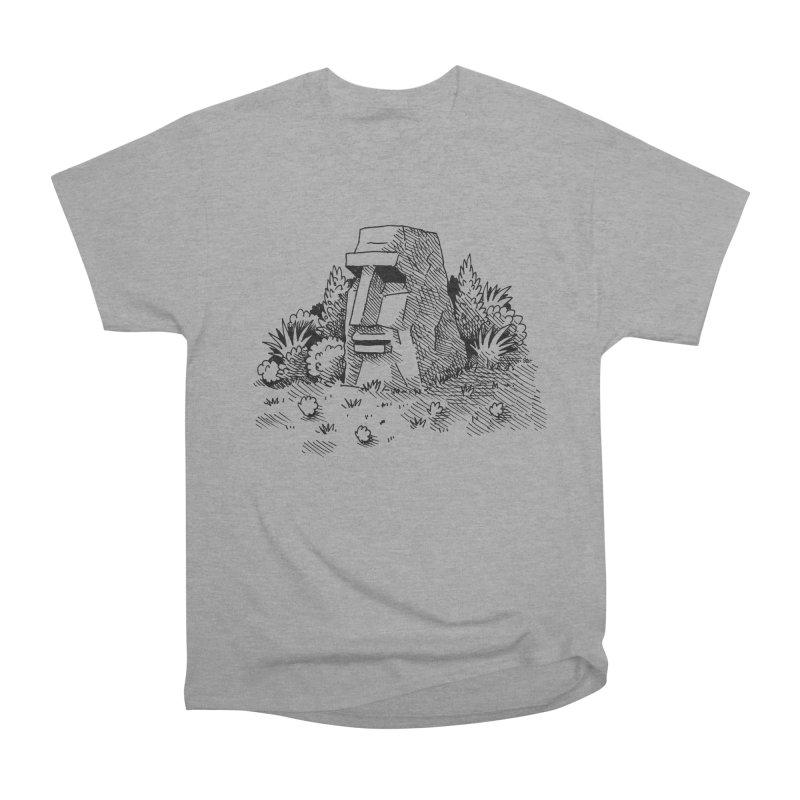 Jungle Monolith Men's Heavyweight T-Shirt by Anthony Woodward's Artist Shop