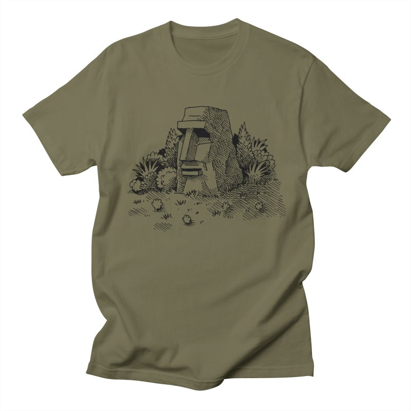 Jungle Monolith Men's T-Shirt by Anthony Woodward's Artist Shop