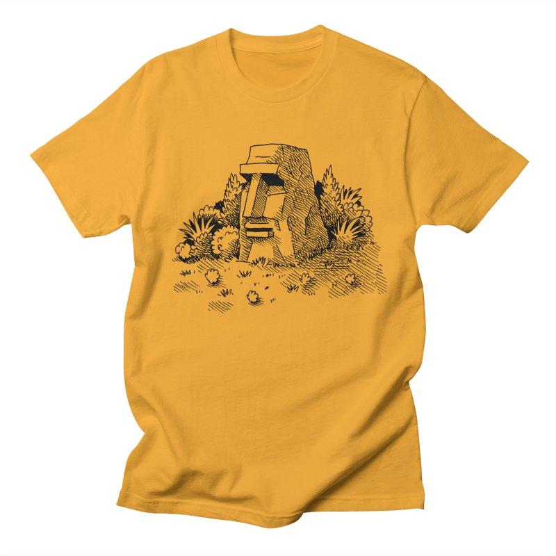 Jungle Monolith Men's T-shirt by Anthony Woodward's Artist Shop