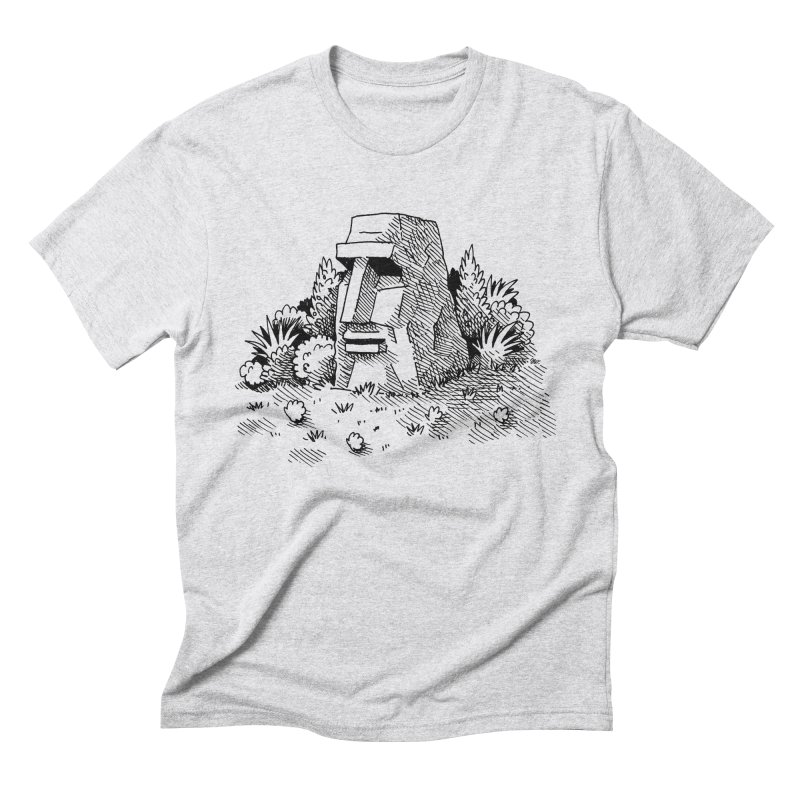 Jungle Monolith Men's Triblend T-Shirt by Anthony Woodward's Artist Shop