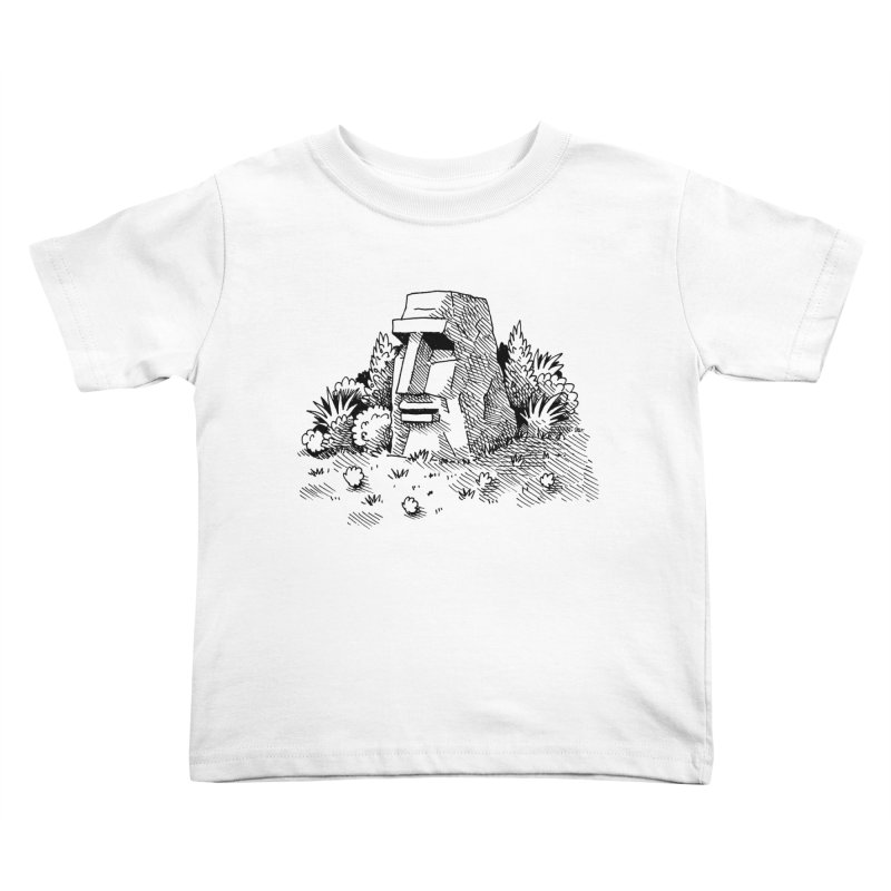 Jungle Monolith Kids Toddler T-Shirt by Anthony Woodward's Artist Shop