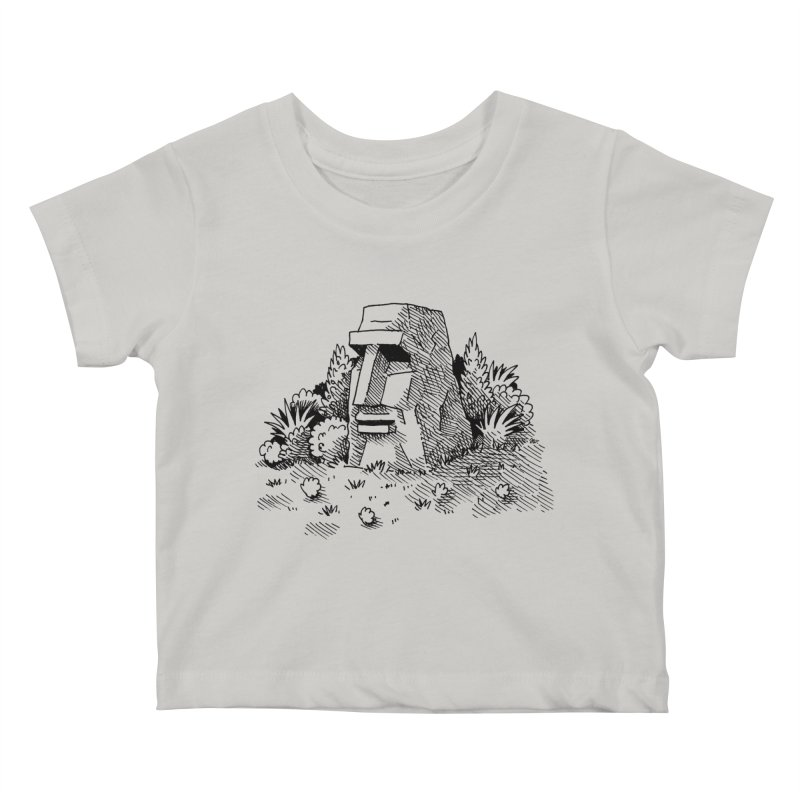 Jungle Monolith Kids Baby T-Shirt by Anthony Woodward's Artist Shop