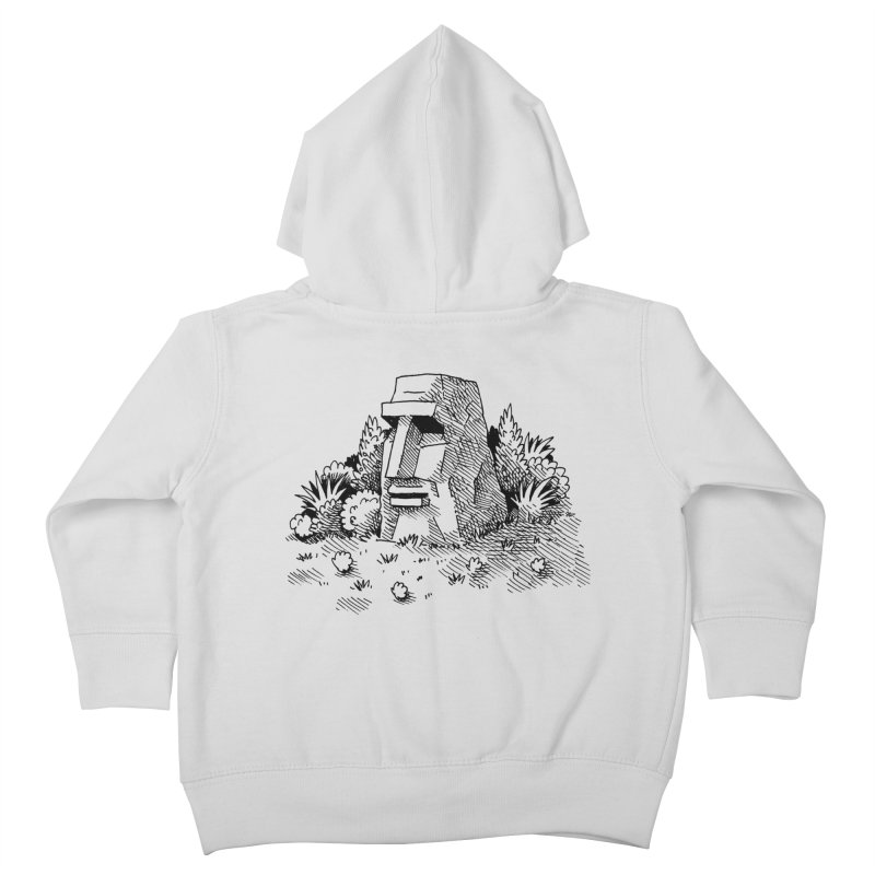 Jungle Monolith Kids Toddler Zip-Up Hoody by Anthony Woodward's Artist Shop