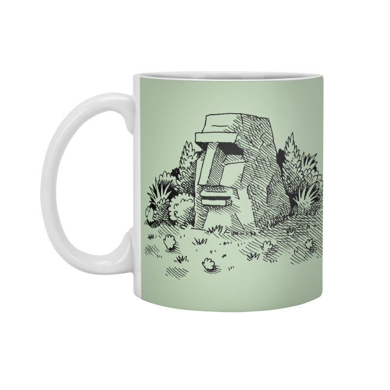 Jungle Monolith Accessories Mug by Anthony Woodward's Artist Shop
