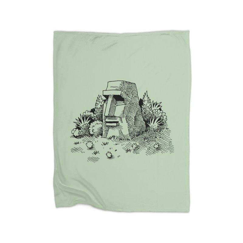 Jungle Monolith Home Blanket by Anthony Woodward's Artist Shop
