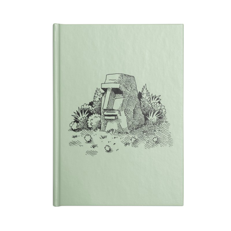 Jungle Monolith Accessories Notebook by Anthony Woodward's Artist Shop