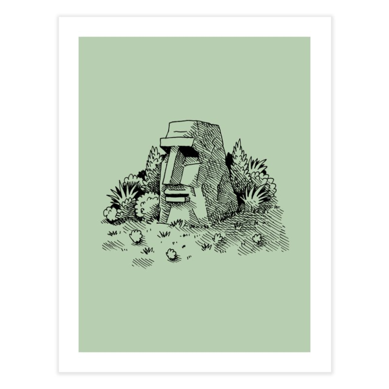 Jungle Monolith Home Fine Art Print by Anthony Woodward's Artist Shop