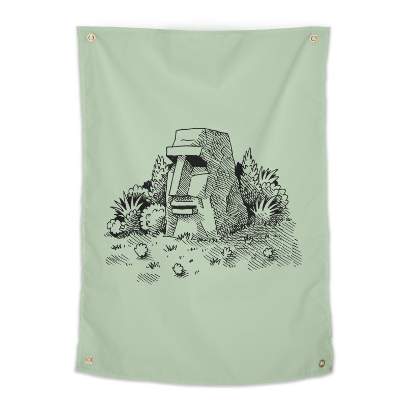Jungle Monolith Home Tapestry by Anthony Woodward's Artist Shop