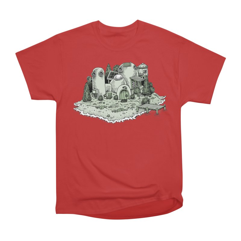 Island Getaway Men's Classic T-Shirt by Anthony Woodward's Artist Shop