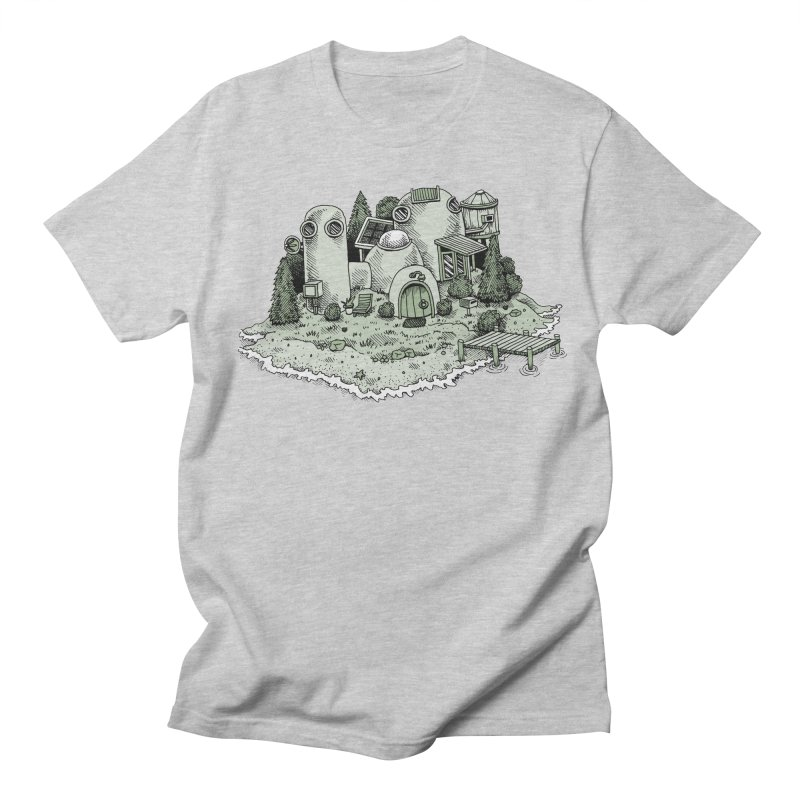 Island Getaway Men's T-Shirt by Anthony Woodward's Artist Shop