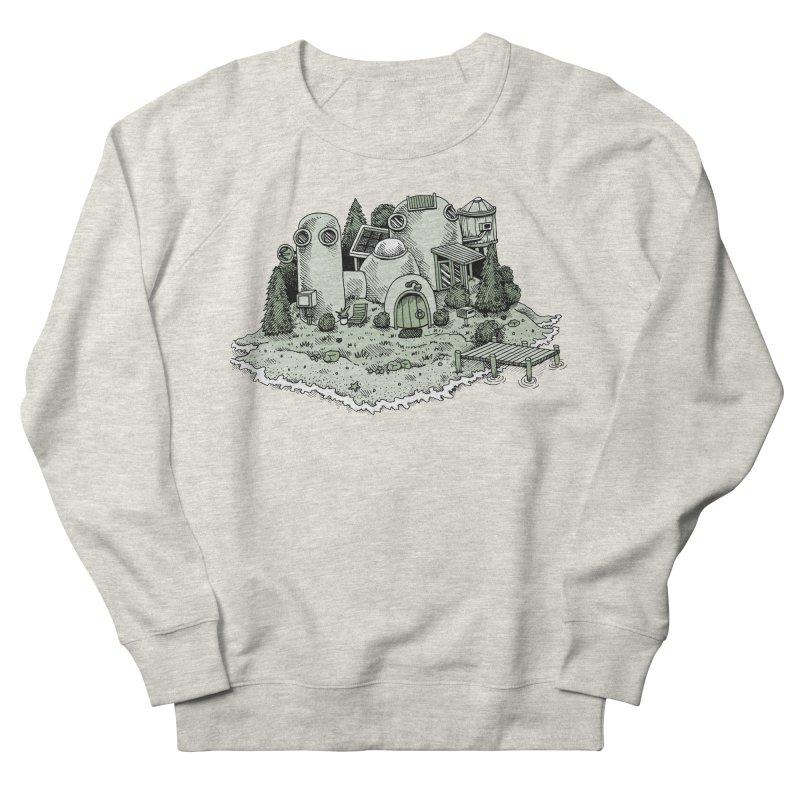 Island Getaway Women's Sweatshirt by Anthony Woodward's Artist Shop
