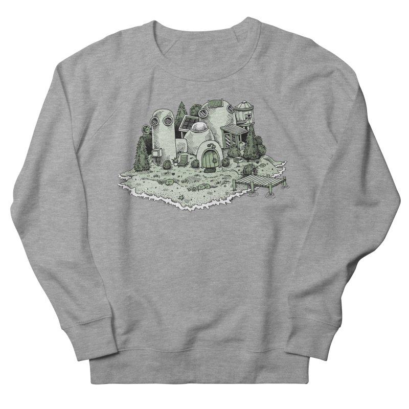 Island Getaway Men's Sweatshirt by Anthony Woodward's Artist Shop