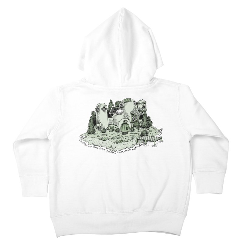 Island Getaway Kids Toddler Zip-Up Hoody by Anthony Woodward's Artist Shop