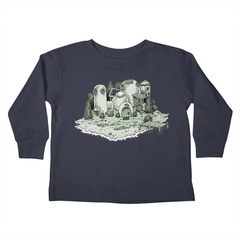 Island Getaway Kids Toddler Longsleeve T-Shirt by Anthony Woodward's Artist Shop