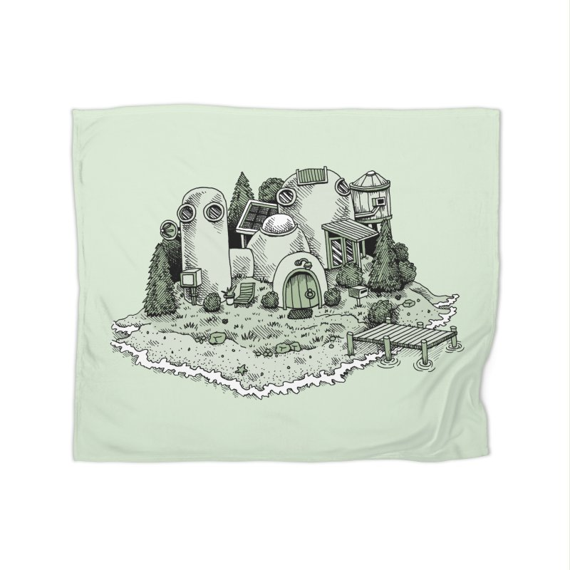 Island Getaway Home Blanket by Anthony Woodward's Artist Shop