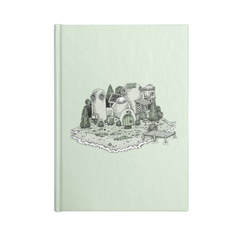 Island Getaway Accessories Notebook by Anthony Woodward's Artist Shop