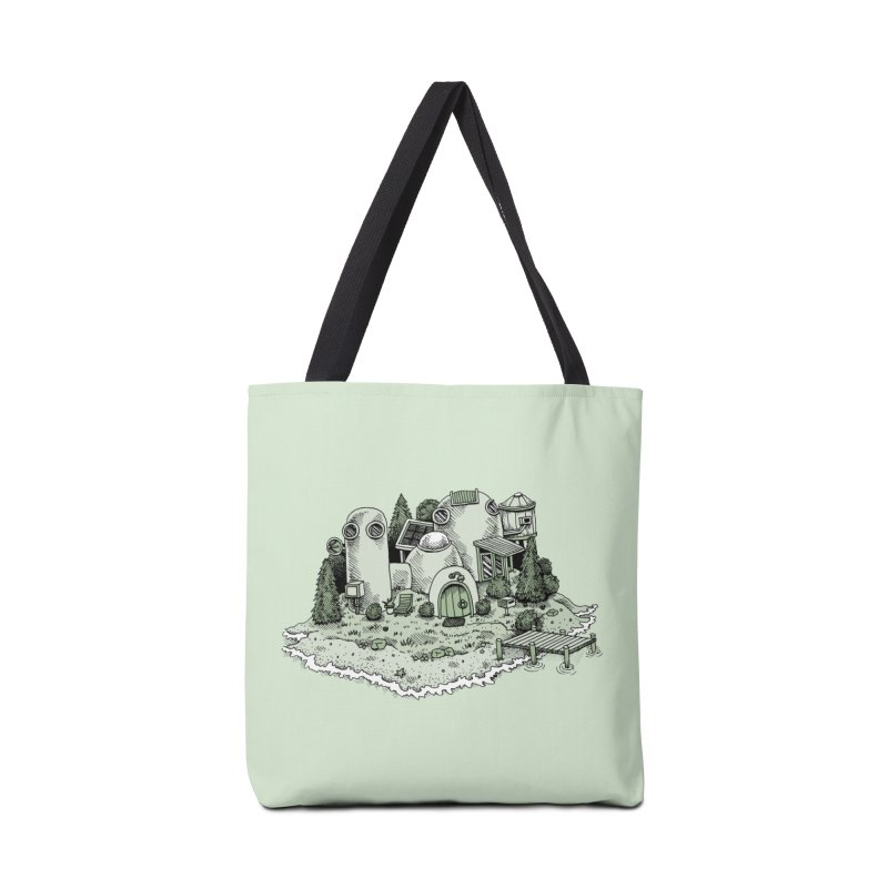 Island Getaway Accessories Bag by Anthony Woodward's Artist Shop
