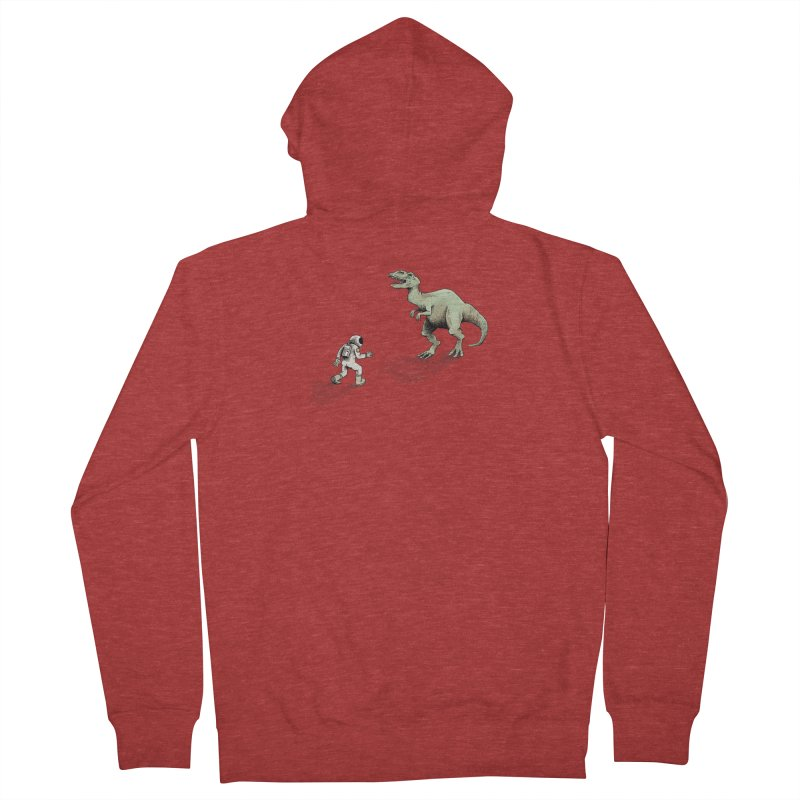 Time Travel Problems Men's Zip-Up Hoody by Anthony Woodward's Artist Shop