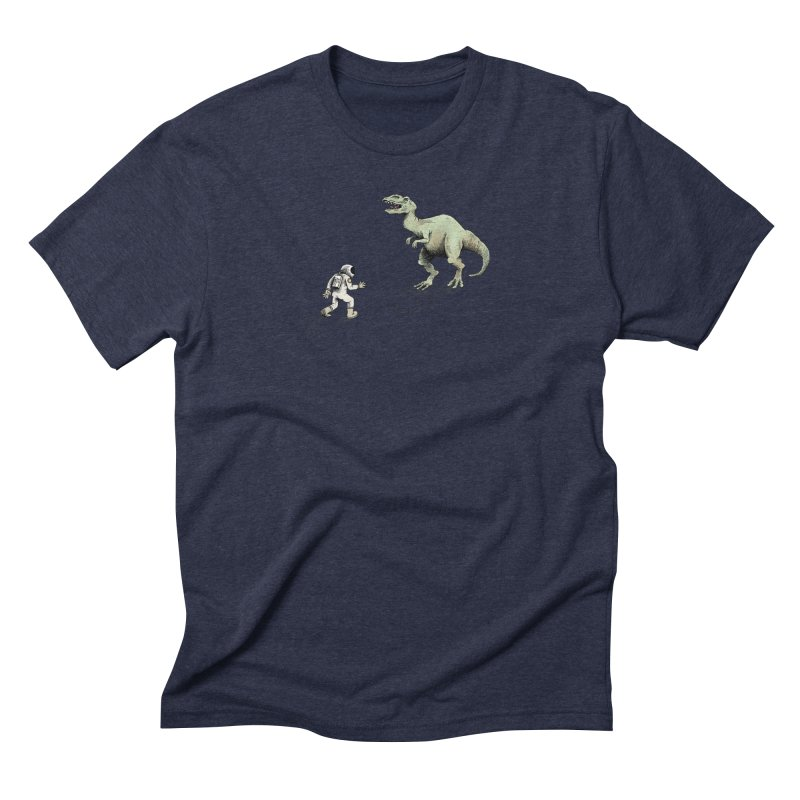 Time Travel Problems Men's Triblend T-shirt by Anthony Woodward's Artist Shop