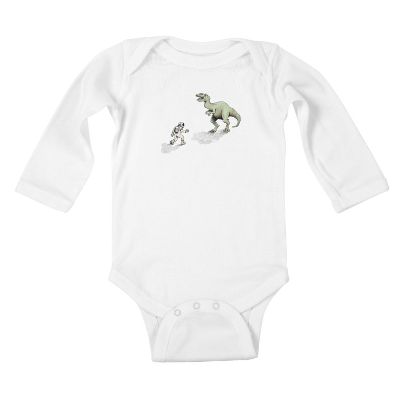 Time Travel Problems Kids Baby Longsleeve Bodysuit by Anthony Woodward's Artist Shop
