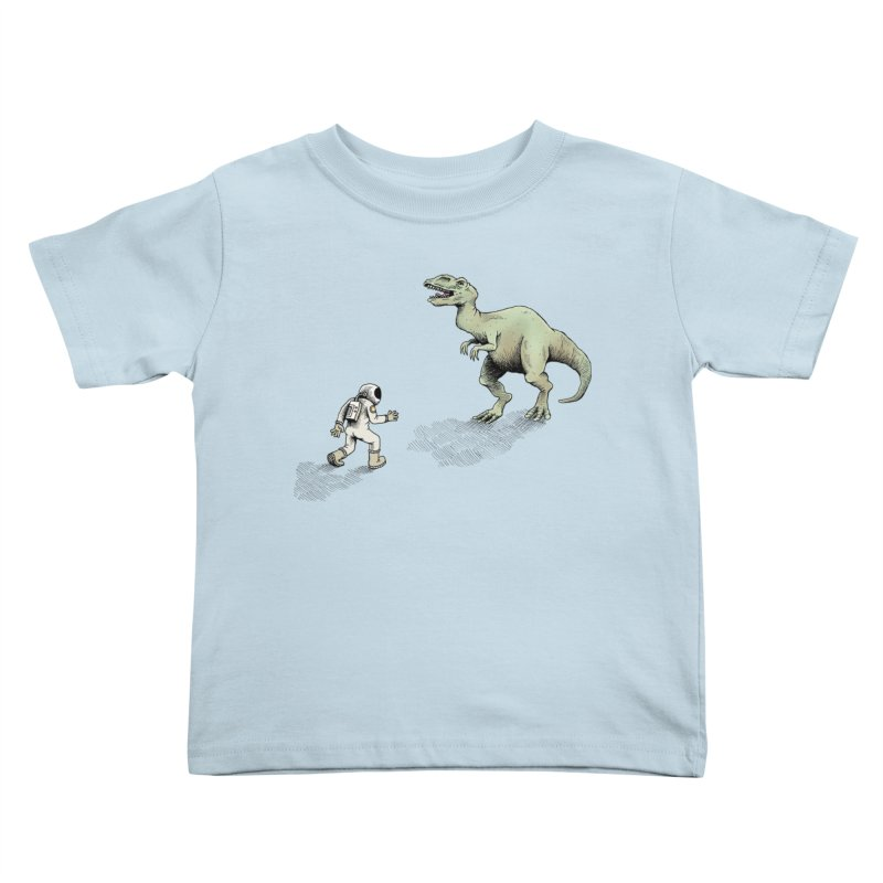 Time Travel Problems Kids Toddler T-Shirt by Anthony Woodward's Artist Shop