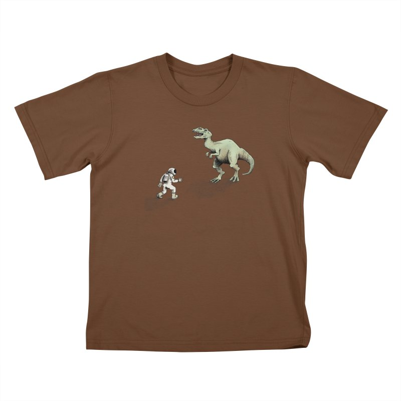 Time Travel Problems Kids T-Shirt by Anthony Woodward's Artist Shop
