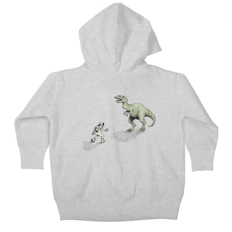 Time Travel Problems Kids Baby Zip-Up Hoody by Anthony Woodward's Artist Shop