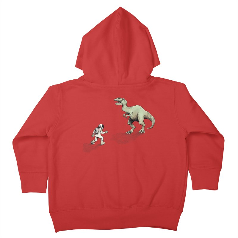 Time Travel Problems Kids Toddler Zip-Up Hoody by Anthony Woodward's Artist Shop