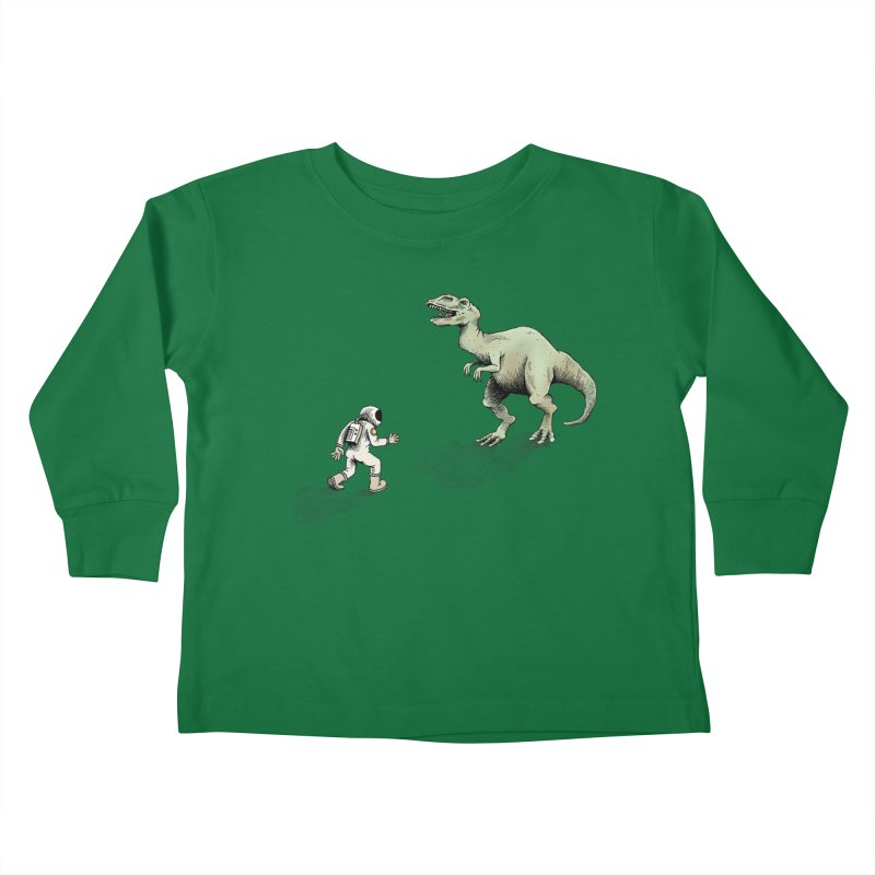 Time Travel Problems Kids Toddler Longsleeve T-Shirt by Anthony Woodward's Artist Shop