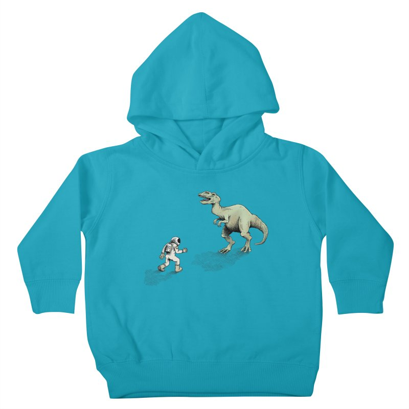 Time Travel Problems Kids Toddler Pullover Hoody by Anthony Woodward's Artist Shop