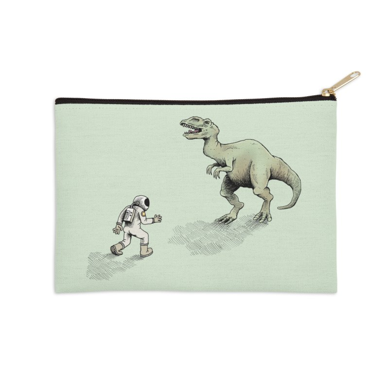 Time Travel Problems Accessories Zip Pouch by Anthony Woodward's Artist Shop