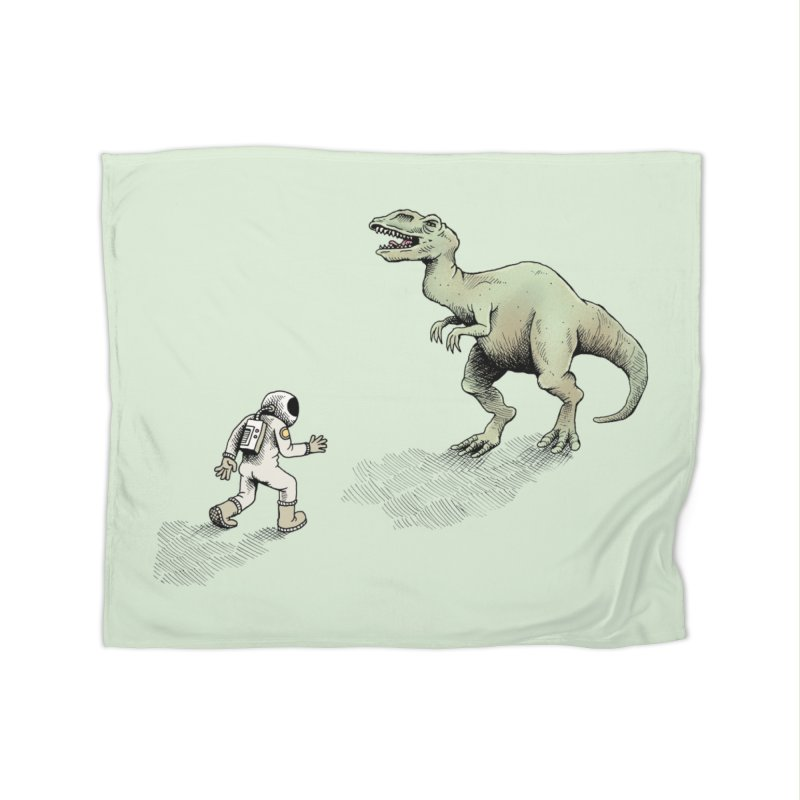 Time Travel Problems Home Blanket by Anthony Woodward's Artist Shop