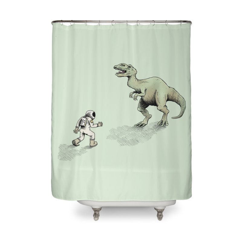 Time Travel Problems Home Shower Curtain by Anthony Woodward's Artist Shop