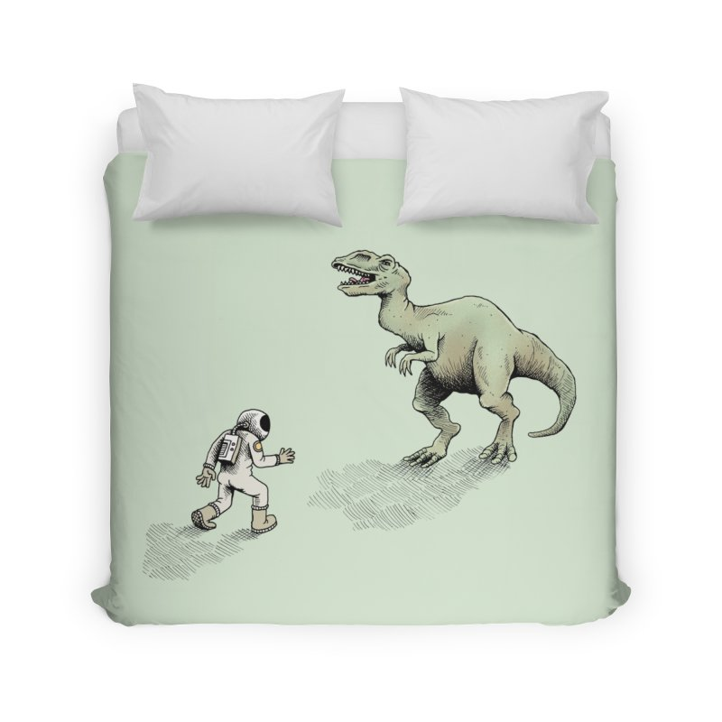 Time Travel Problems Home Duvet by Anthony Woodward's Artist Shop