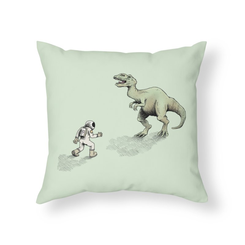 Time Travel Problems Home Throw Pillow by Anthony Woodward's Artist Shop