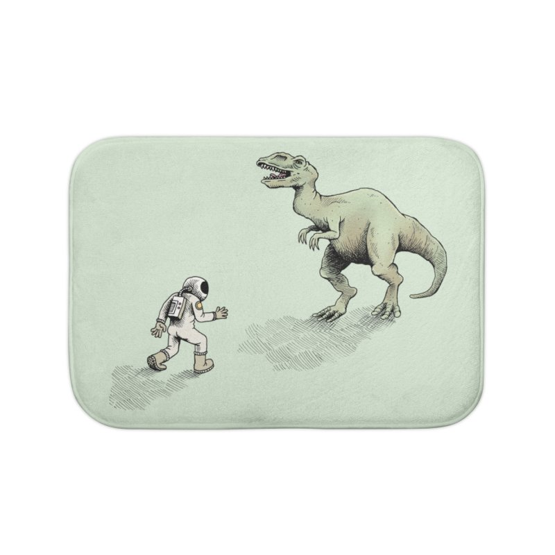 Time Travel Problems Home Bath Mat by Anthony Woodward's Artist Shop