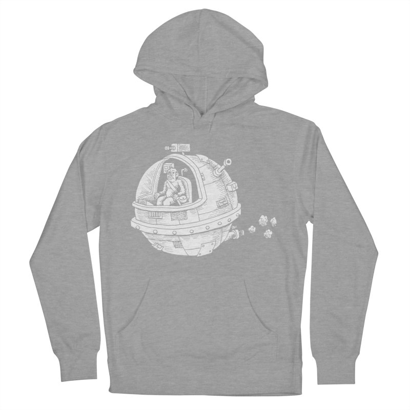Spacefaring Yeti is in Space Women's Pullover Hoody by Anthony Woodward's Artist Shop