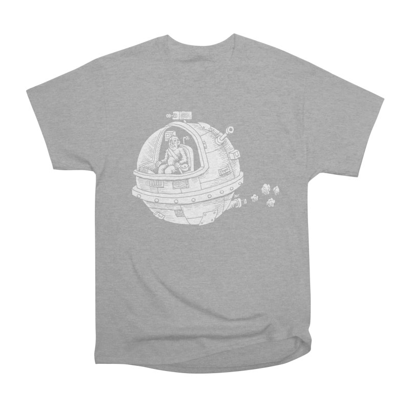 Spacefaring Yeti is in Space Men's Classic T-Shirt by Anthony Woodward's Artist Shop