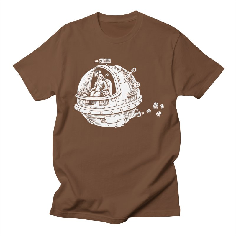 Spacefaring Yeti is in Space Women's Unisex T-Shirt by Anthony Woodward's Artist Shop